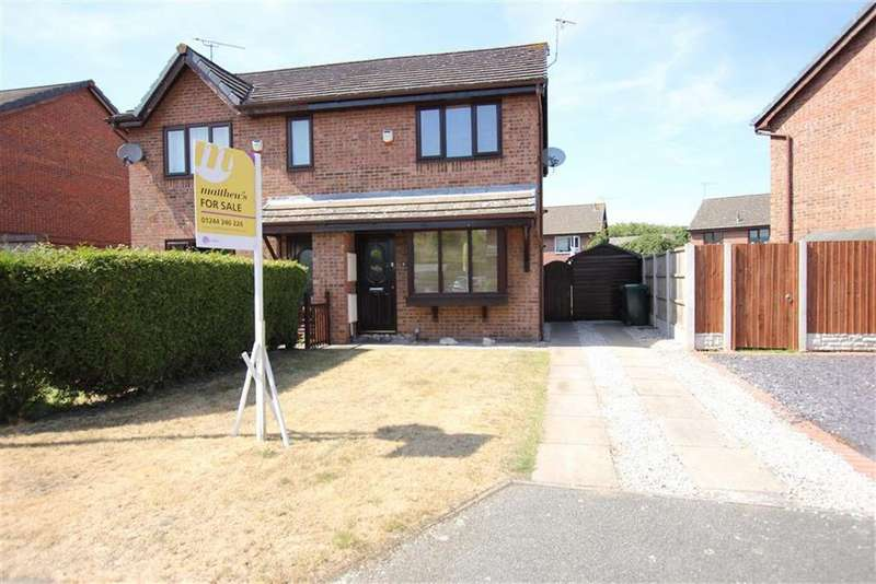 2 Bedrooms Semi Detached House for sale in Jamieson Close, Vicars Cross, Chester