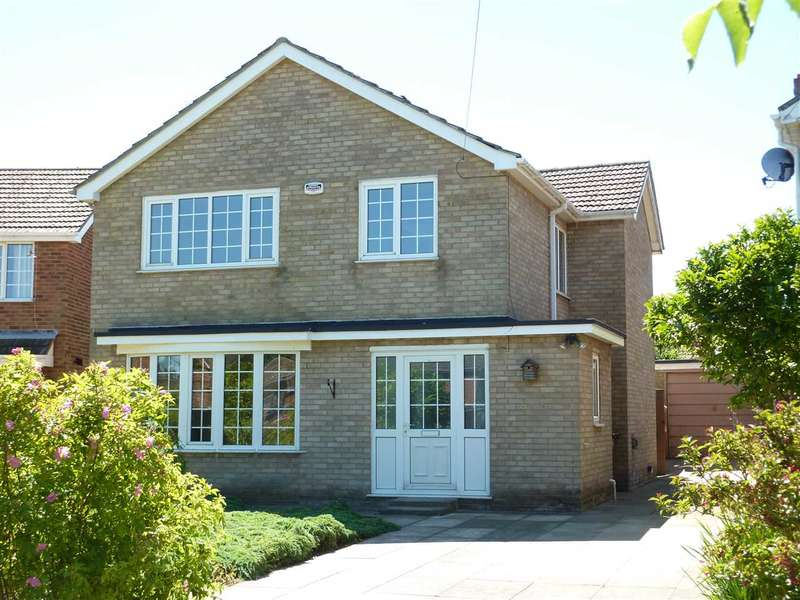 4 Bedrooms Detached House for sale in ACHILLE ROAD, LACEBY ACRES, GRIMSBY