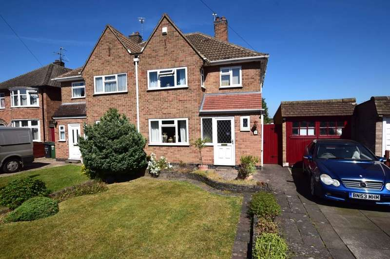 3 Bedrooms Semi Detached House for sale in Barngate Close, Birstall, Leicester, LE4