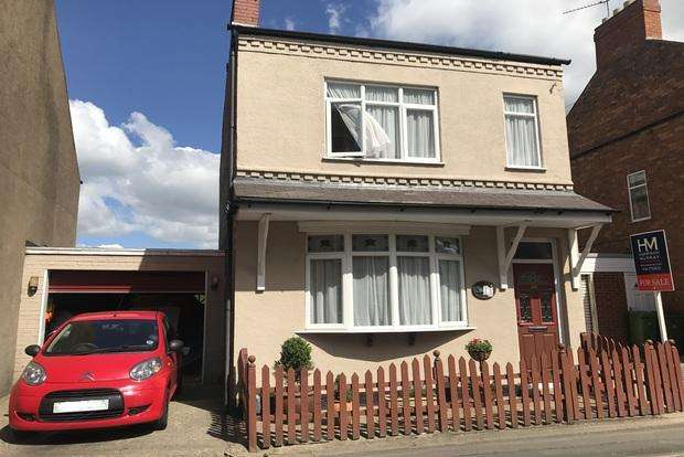 3 Bedrooms Link Detached House for sale in West Street, Enderby, Leicester, LE19