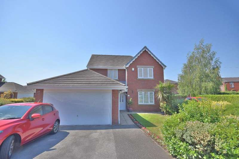 4 Bedrooms Detached House for sale in Meadows Close, Hazel Grove