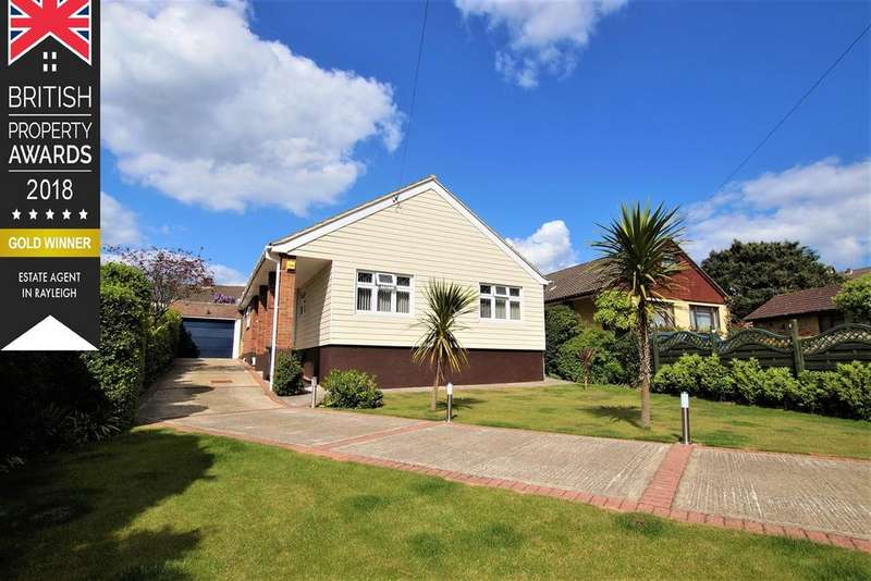 3 Bedrooms Detached Bungalow for sale in Elm Close, Rayleigh, SS6