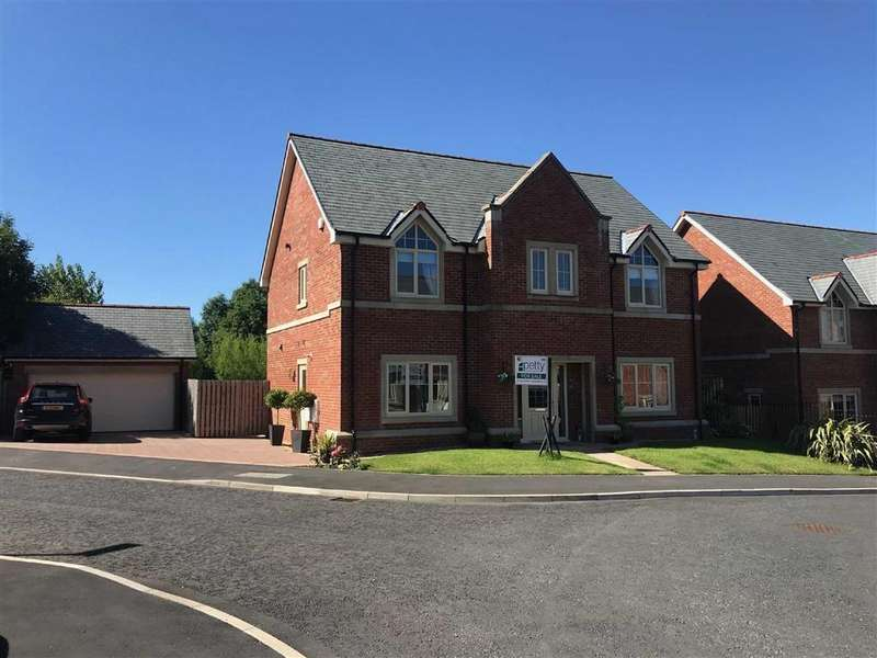 4 Bedrooms Detached House for sale in Grenfell Gardens, Colne, Lancashire