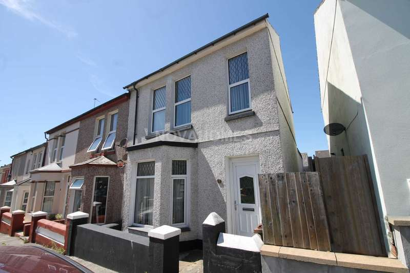 2 Bedrooms End Of Terrace House for sale in Second Avenue, Camels Head, Plymouth, PL2 2EQ