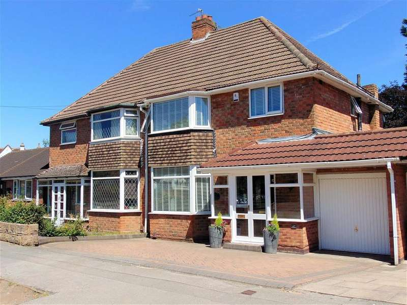 3 Bedrooms Semi Detached House for sale in Clayton Drive, Castle Bromwich, Birmingham