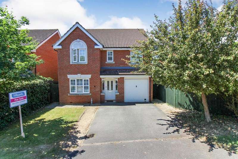 4 Bedrooms Detached House for sale in Faithfull Close, Stone