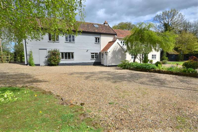 4 Bedrooms Detached House for sale in Worlingworth Road, Horham, Suffolk