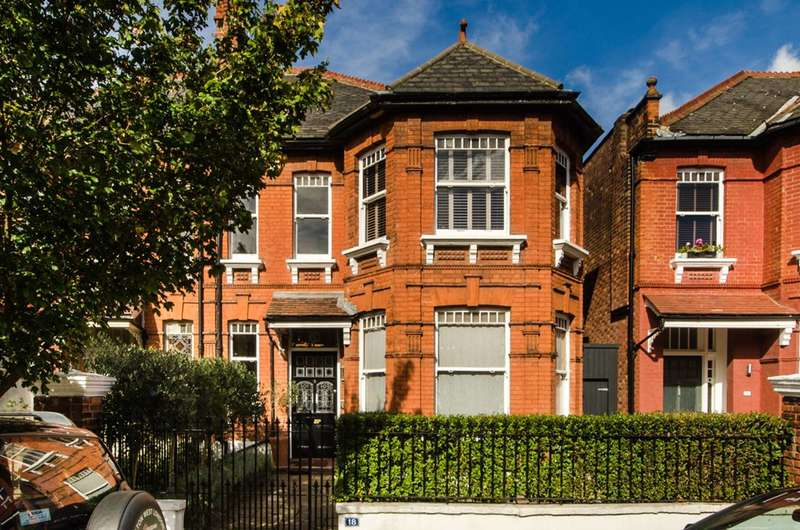 5 Bedrooms Terraced House for sale in Keyes Road, Mapesbury Estate, NW2