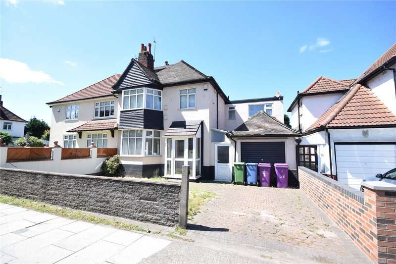 4 Bedrooms Semi Detached House for sale in Queens Drive, Wavertree, Liverpool, L15