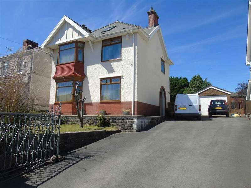 4 Bedrooms Detached House for sale in New Road, Treboeth, Swansea