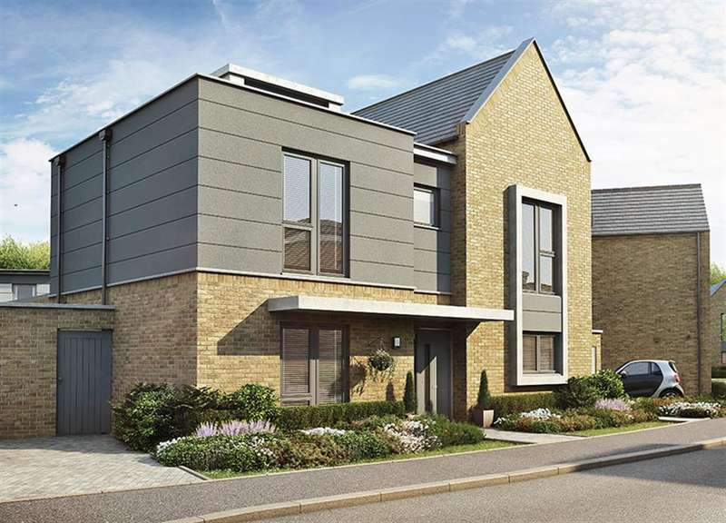 4 Bedrooms Detached House for sale in Hollow Lane, The Observatory, Canterbury, Kent