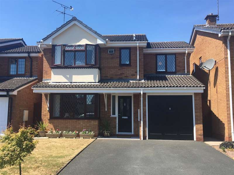 4 Bedrooms Detached House for sale in Nash Avenue, Stafford