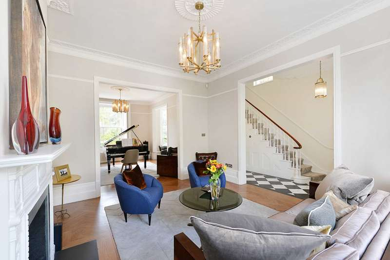 5 Bedrooms Semi Detached House for sale in Clarendon Road, Notting Hill W11