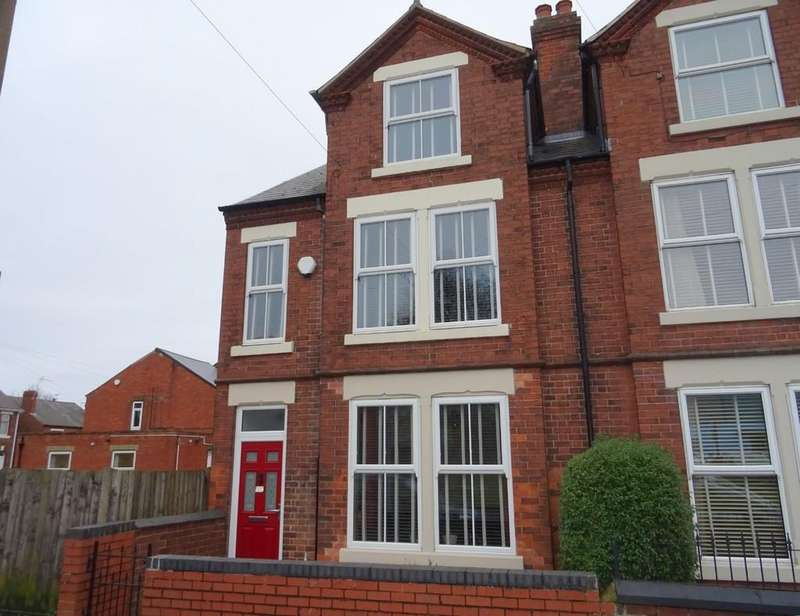 4 Bedrooms Semi Detached House for sale in Derby Road, Ripley