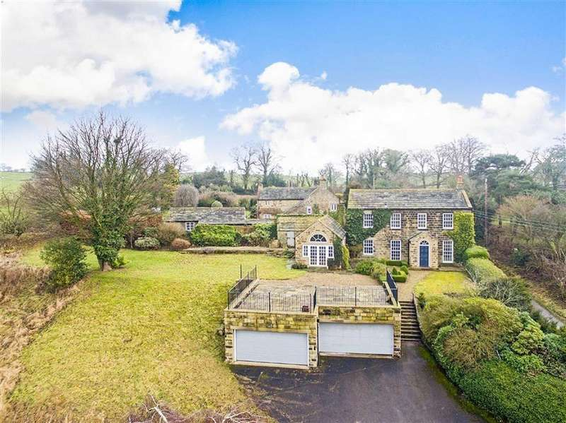 4 Bedrooms Detached House for sale in Stainburn Lane, Otley, West Yorkshire