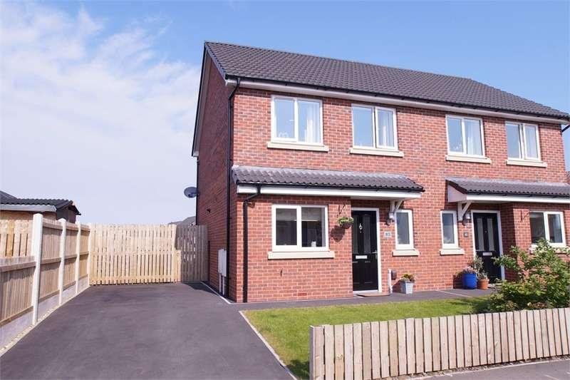 2 Bedrooms Semi Detached House for sale in CA2 7DY Dalton Avenue, New Acres, Carlisle, Cumbria