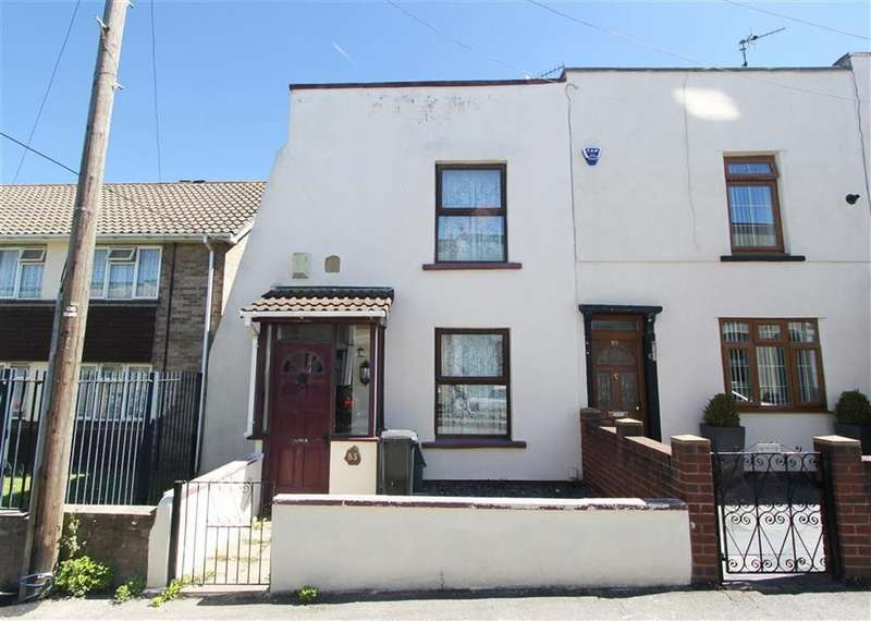 2 Bedrooms End Of Terrace House for sale in The Nursery, Bedminster, Bristol