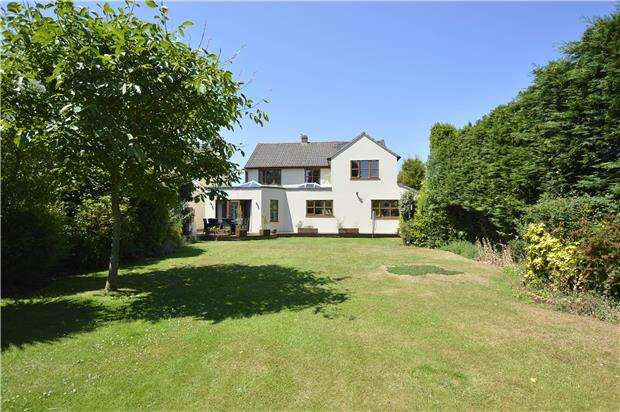 4 Bedrooms Detached House for sale in Heath Close, Winterbourne BS36 1LQ