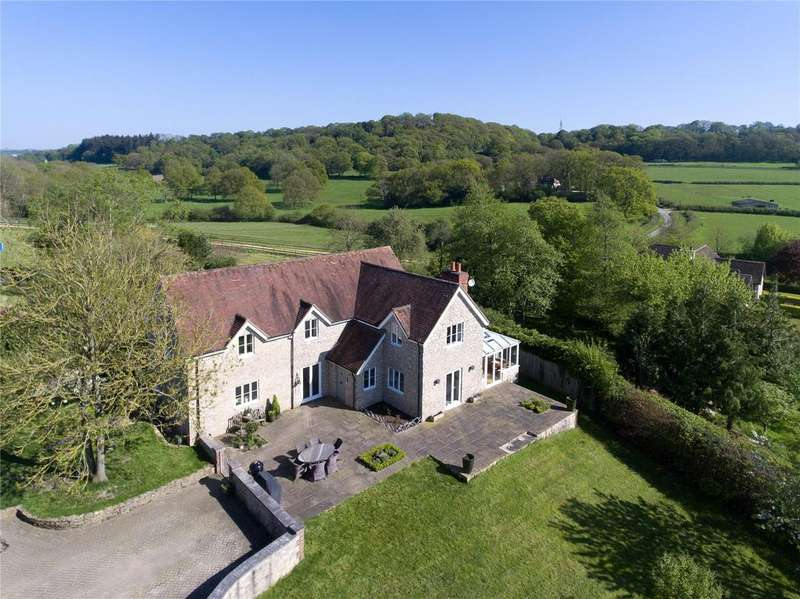 5 Bedrooms Detached House for sale in Lower Chicksgrove, Tisbury, Salisbury