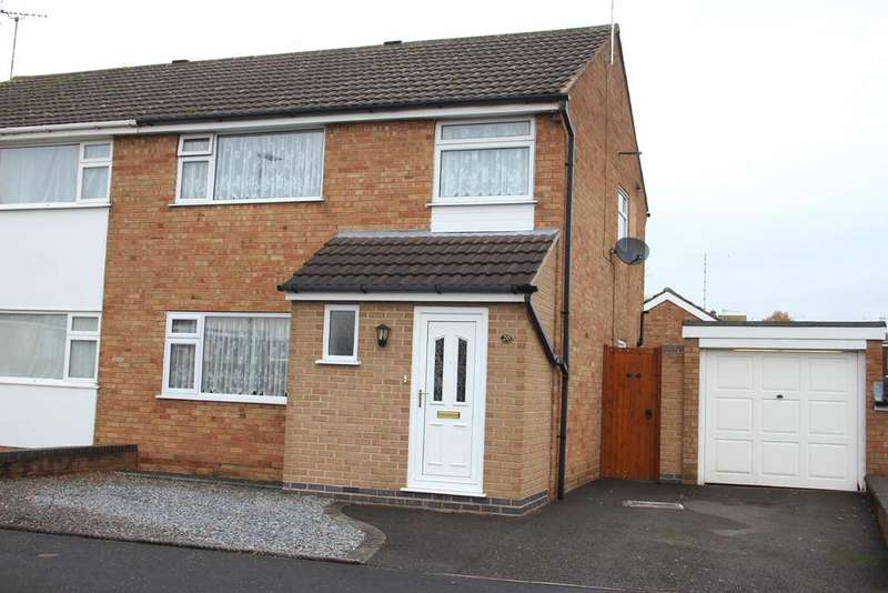 3 Bedrooms Semi Detached House for sale in Parkstone Road, Desford, Leicester
