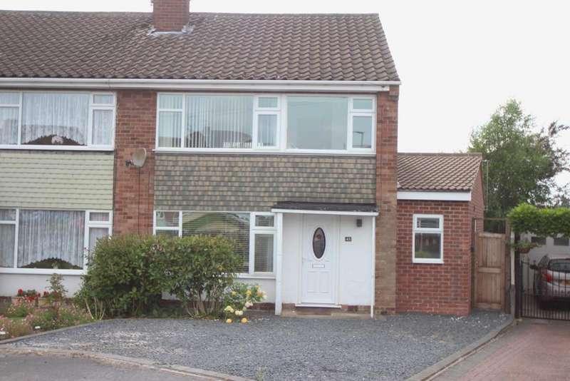3 Bedrooms Semi Detached House for sale in Goosehills Road, Burbage