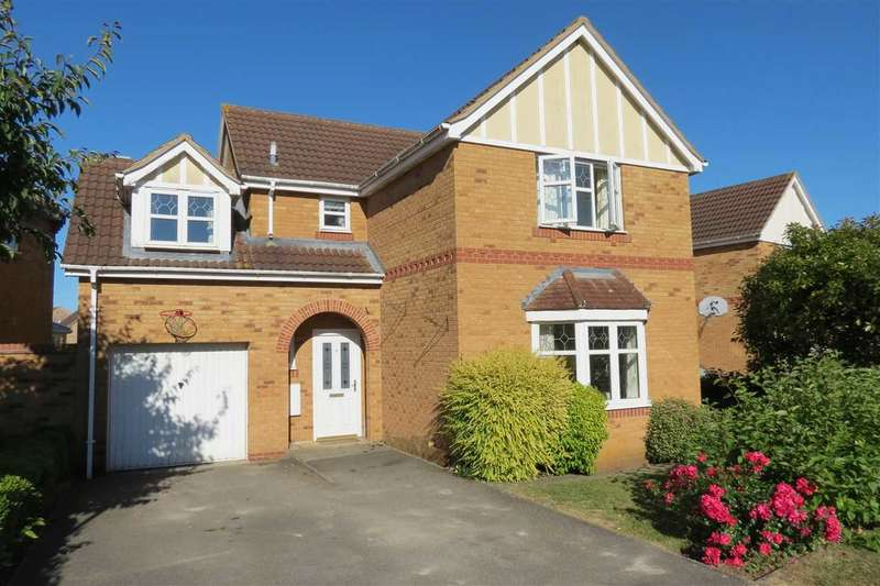 4 Bedrooms Detached House for sale in Rowan Close, Sleaford