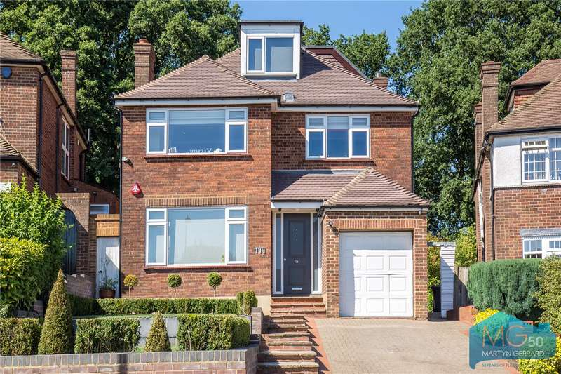 5 Bedrooms Detached House for sale in The Reddings, Mill Hill, London, NW7