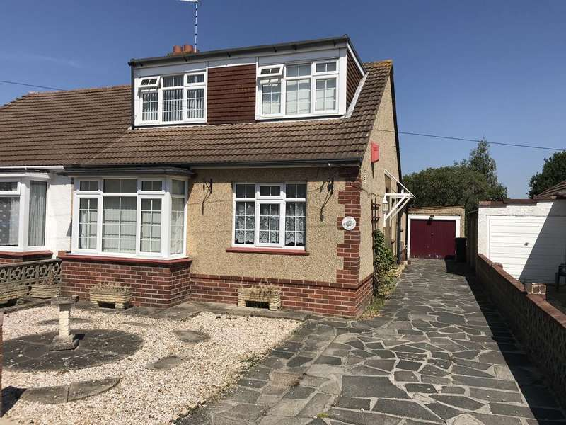 4 Bedrooms Semi Detached Bungalow for sale in Braemar Close, Gosport PO13