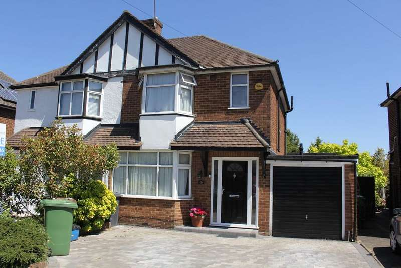 3 Bedrooms Semi Detached House for sale in MIMMS HALL ROAD, POTTERS BAR.