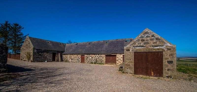 4 Bedrooms Equestrian Facility Character Property for sale in Land Barn Upper Kinnadie, Auchnagatt, Ellon, Aberdeenshire, AB41