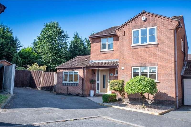 3 Bedrooms Detached House for sale in Windsor Close, Heanor, Derbyshire, DE75