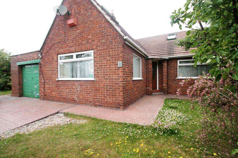 2 Bedrooms Semi Detached Bungalow for sale in Rievaulx Avenue, Billingham