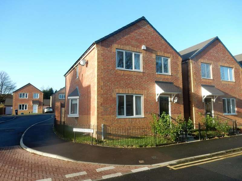 4 Bedrooms Detached House for sale in Stephenson Court Shildon County Durham