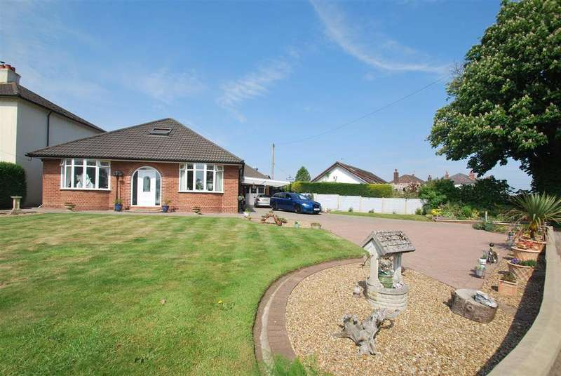 3 Bedrooms Detached Bungalow for sale in Norley Road, Newton, Frodsham