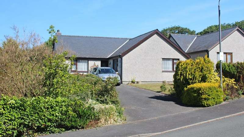3 Bedrooms Detached Bungalow for sale in Glan Ysgethin, Talybont, LL43