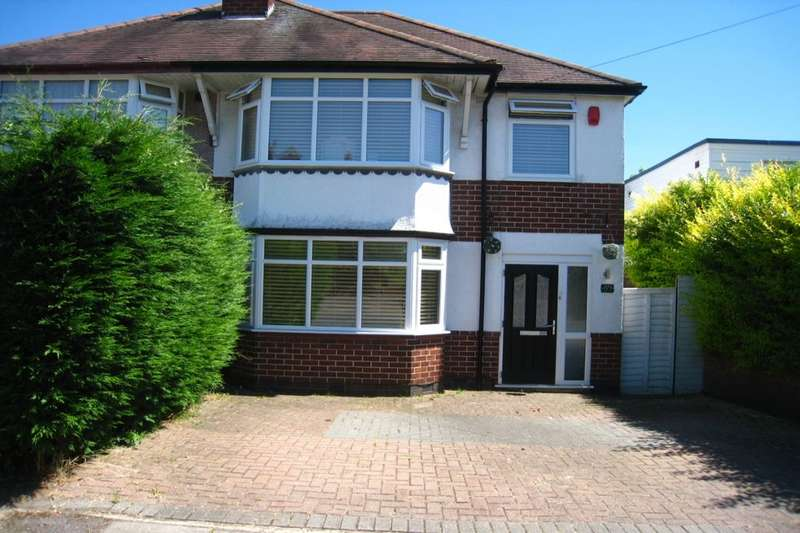 3 Bedrooms Semi Detached House for sale in Stoney Road, Coventry, CV3