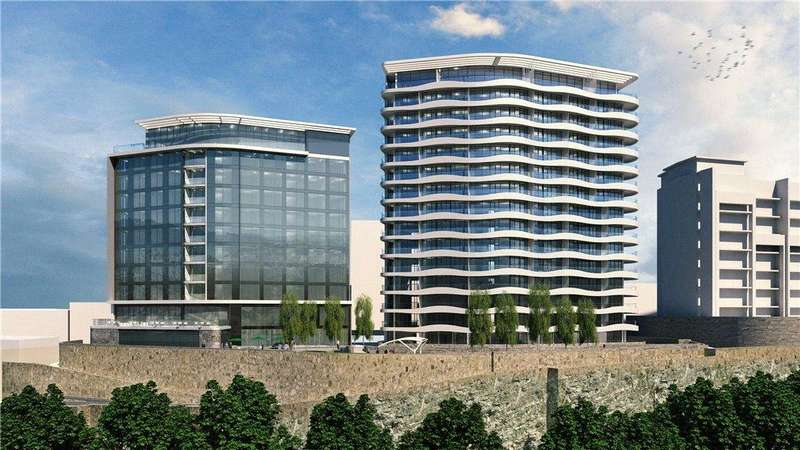 2 Bedrooms Apartment Flat for sale in Sixty Eight, 1620 The Residences, Plymouth Hoe, Plymouth, Devon