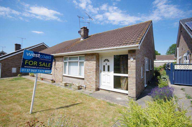 2 Bedrooms Semi Detached Bungalow for sale in Victoria Close, Thornbury, Bristol