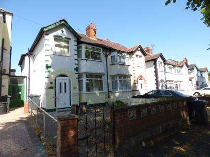 3 Bedrooms Semi Detached House for sale in Cateswell Road, Sparkhill, Birmingham, West Midlands