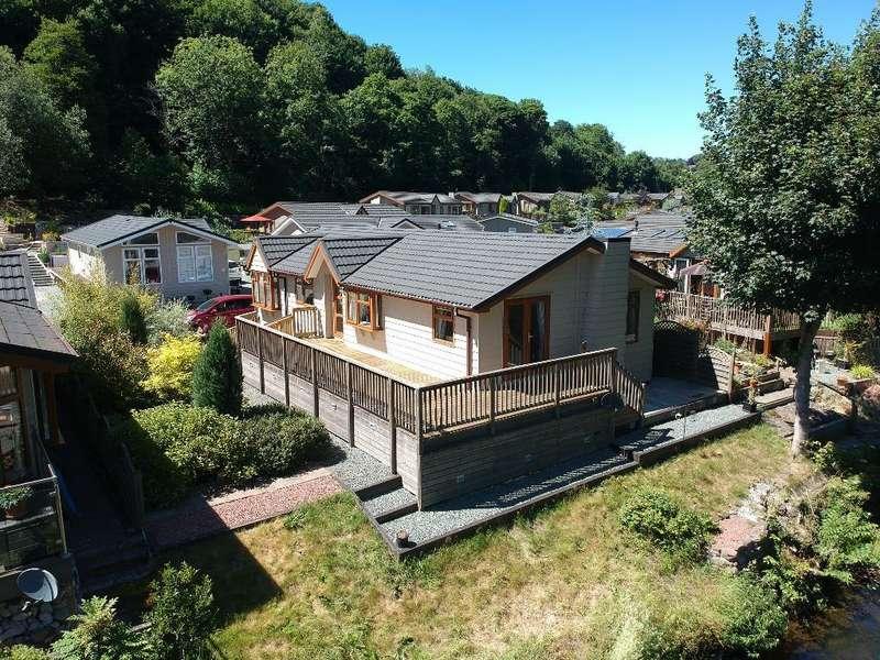 2 Bedrooms Park Home Mobile Home for sale in Lea Lane, Merebrook Park, Whatstandwell, Derbyshire, DE4 5NU