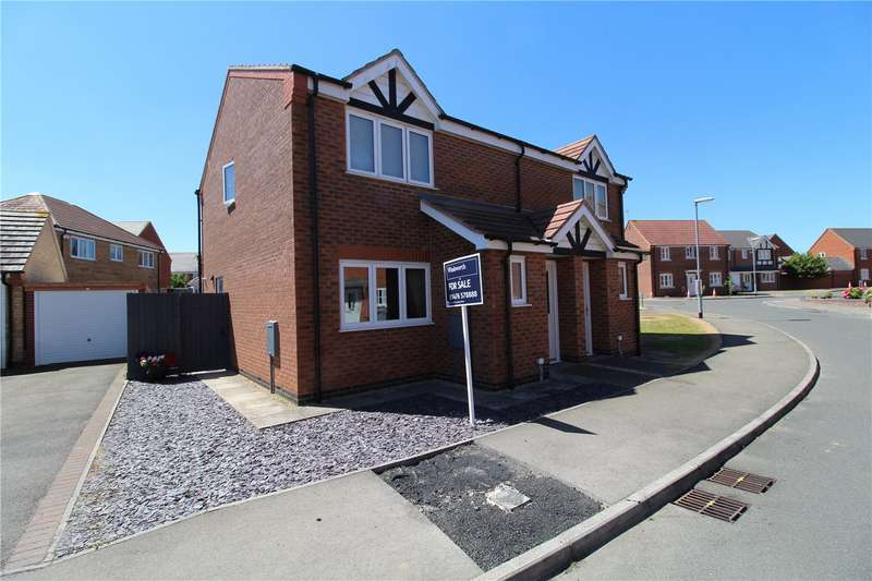 3 Bedrooms Semi Detached House for sale in Woodbrook, Grantham, NG31