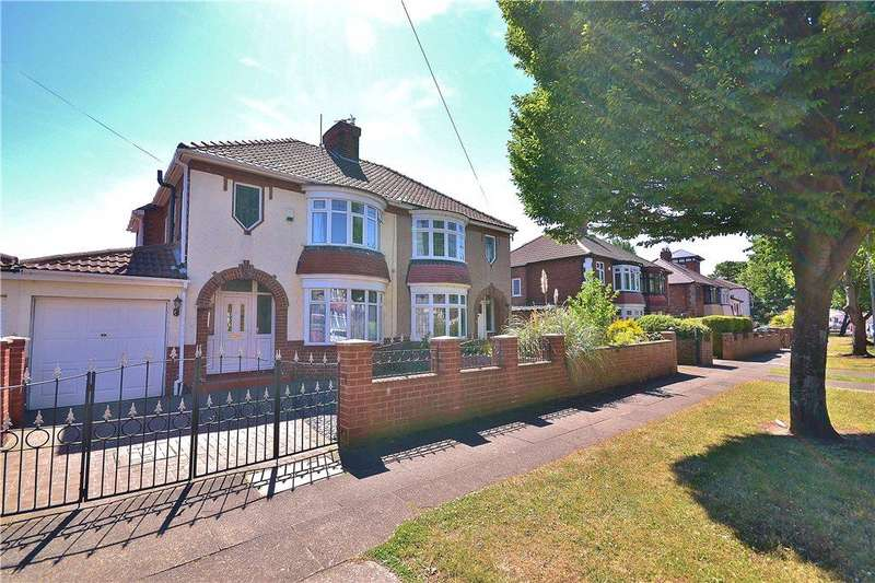 3 Bedrooms Semi Detached House for sale in Greylands Avenue, Norton, Stockton-On-Tees