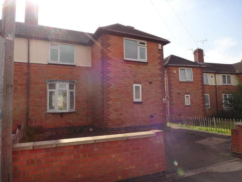 3 Bedrooms Semi Detached House for sale in Cowdall Road, Braunstone, Leicester