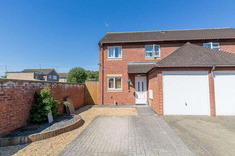 4 Bedrooms Semi Detached House for sale in Caxton Road, Old Wolverton