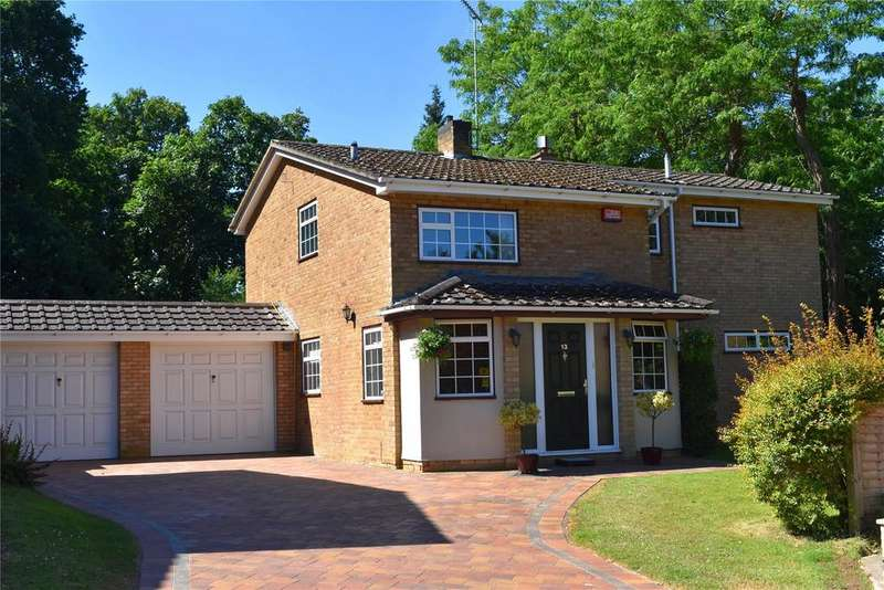 4 Bedrooms Detached House for sale in Chamberlains Gardens, Leighton Buzzard