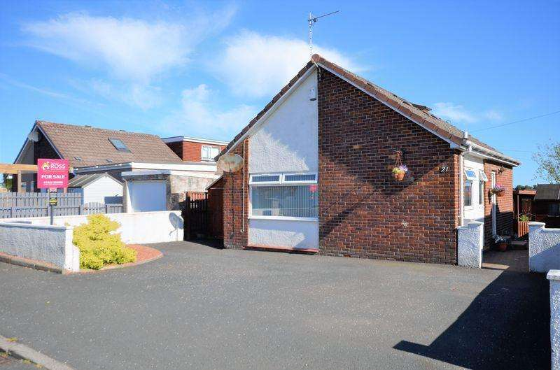 3 Bedrooms Detached Bungalow for sale in 21 Springhill Avenue, Crosshouse KA2 0JP