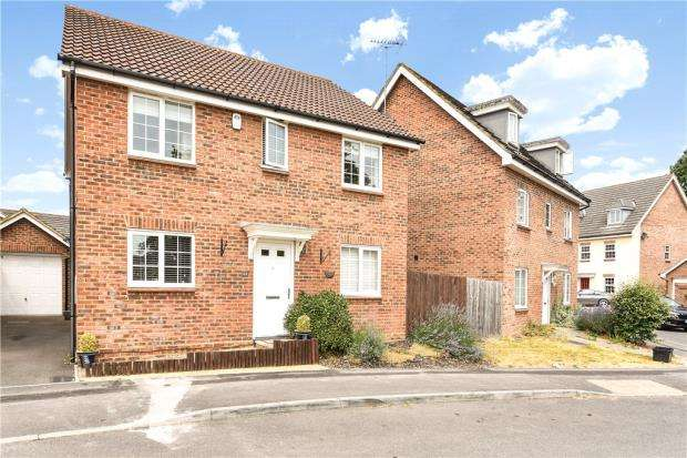 4 Bedrooms Detached House for sale in Beatty Rise, Spencers Wood, Reading