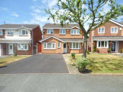 4 Bedrooms Detached House for sale in Granborne Chase, Kirkby, Liverpool, Merseyside, L32