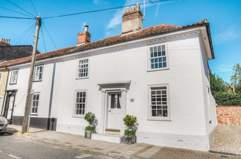 3 Bedrooms Town House for sale in London Road, Halesworth