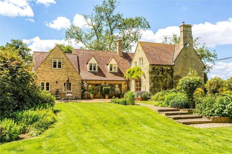 5 Bedrooms Detached House for sale in Hatherop, Cirencester, Gloucestershire, GL7